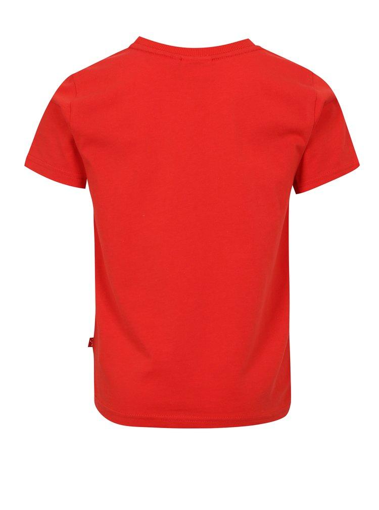 Červené klučičí tričko s potiskem Lego Wear Thomas