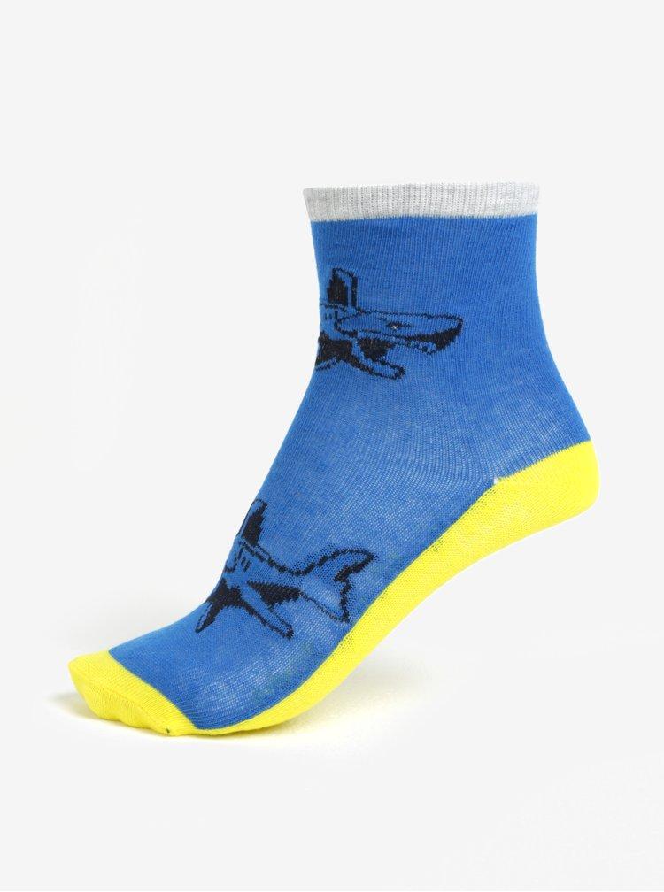 Žluto-modrá sada tří párů klučičích ponožek Lego Wear Aiden