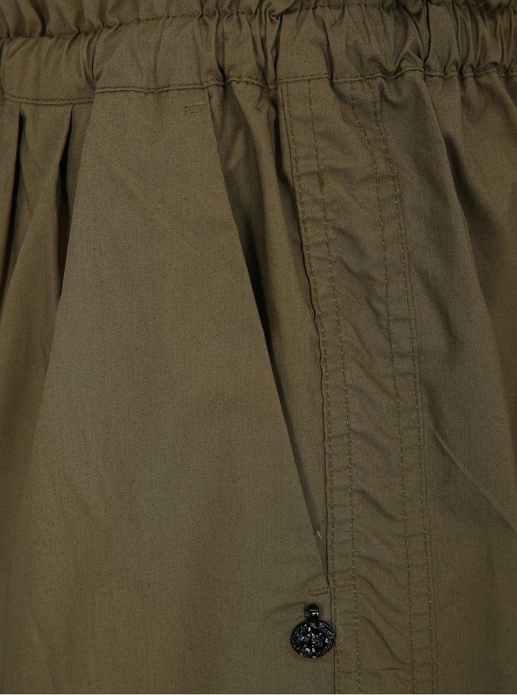 Khaki kraťasy s elastickým pasem Scotch & Soda