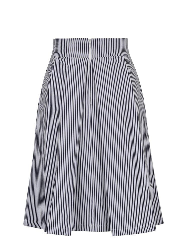 Bílo-modrá pruhovaná sukně SEVERANKA
