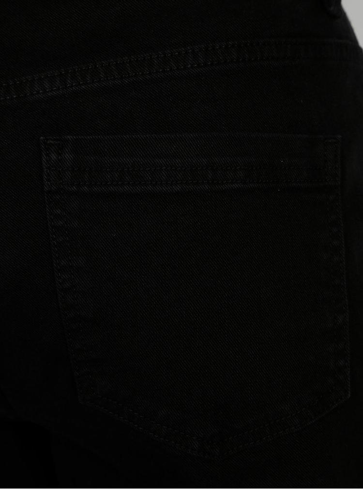Černé mom džíny s vysokým pasem SH Quetzal