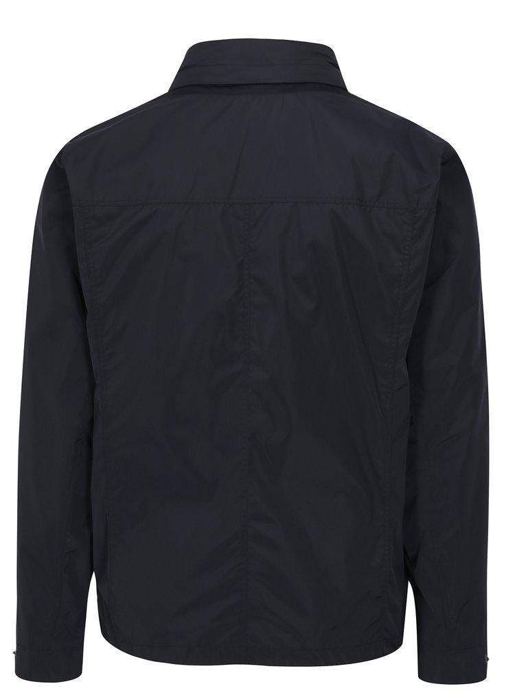 Modrá pánská bunda s kapucí Geox