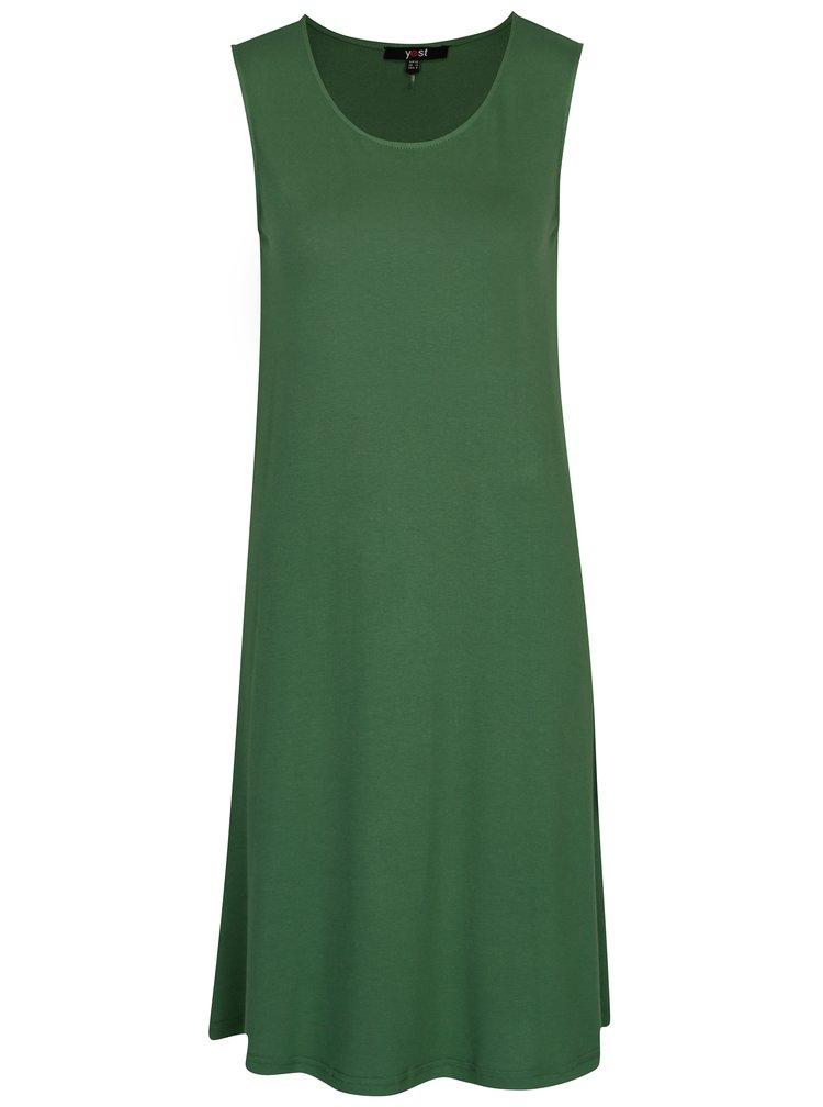 Zelené šaty bez rukávu Yest