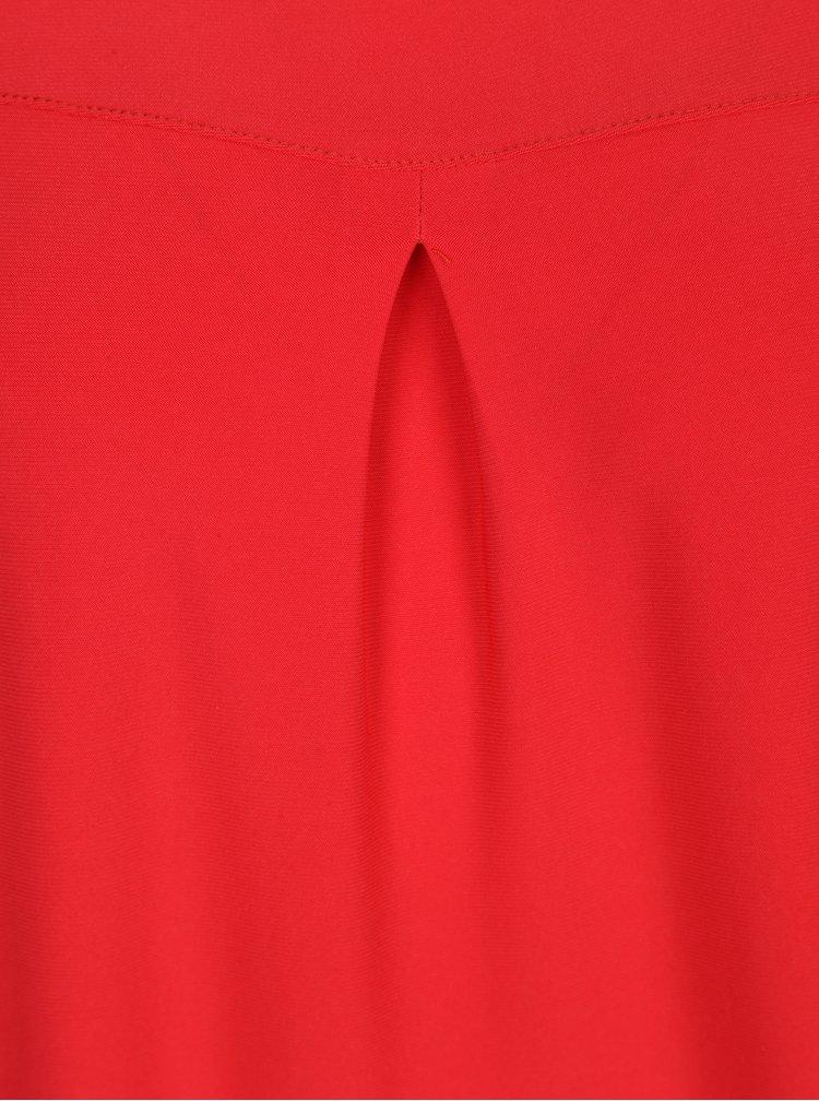 Červený top bez rukávu Yest