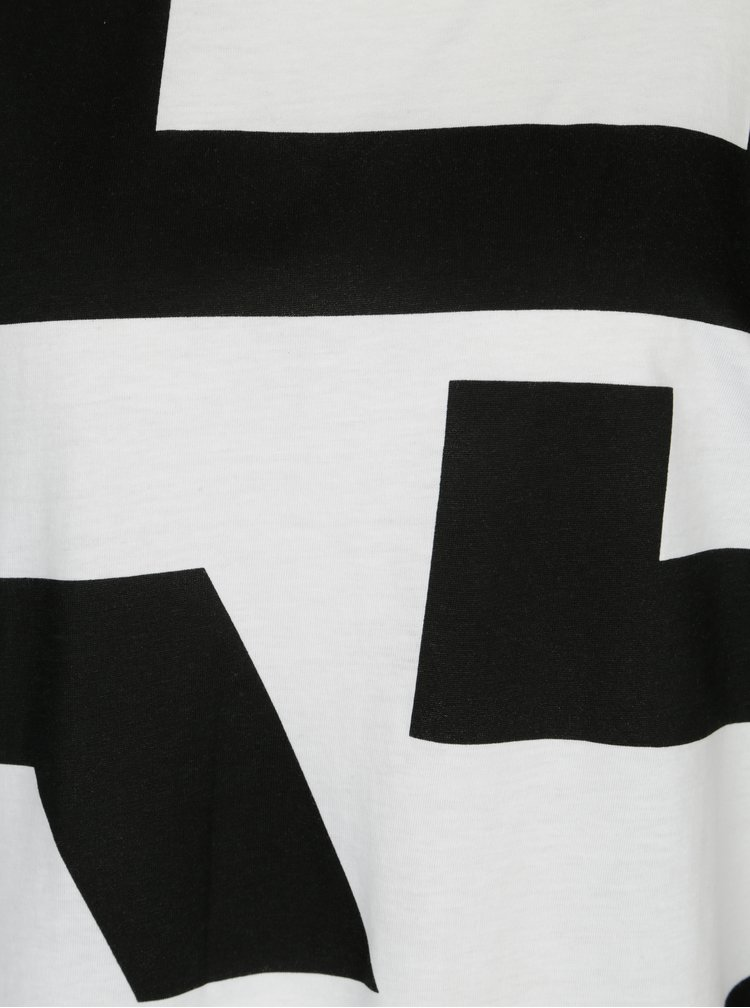 Bílé vzorované šaty Cheap Monday