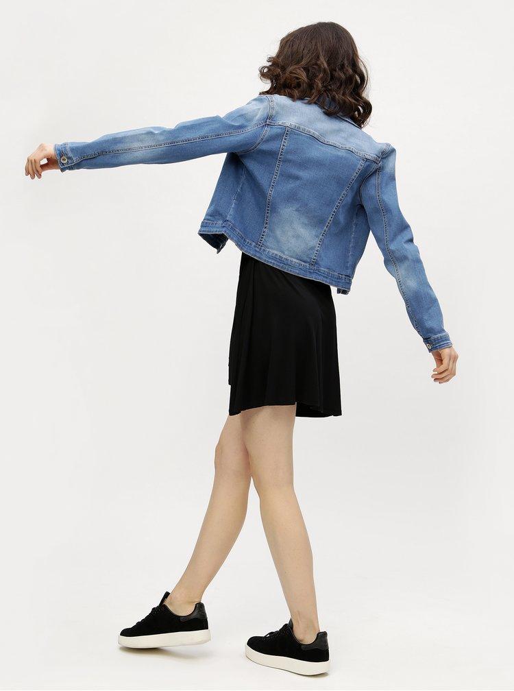Džínová bunda s vyšisovaným efektem Haily's Enny