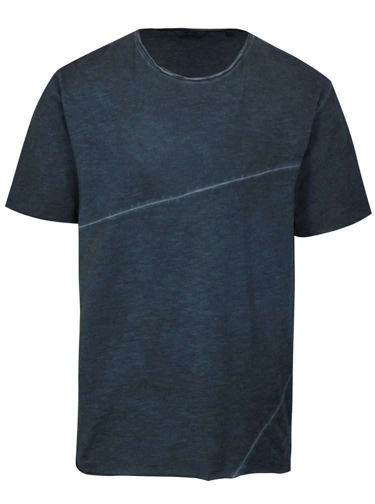 Tmavě modré žíhané tričko ONLY & SONS Stewie