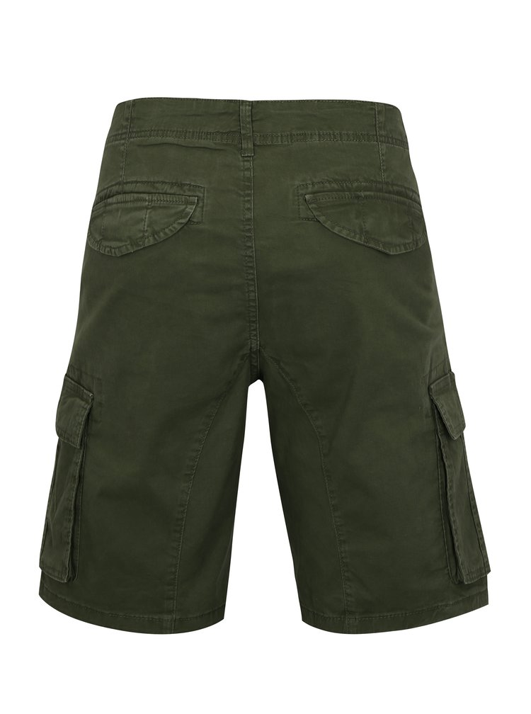 Khaki kraťasy s kapsami ONLY & SONS Tony