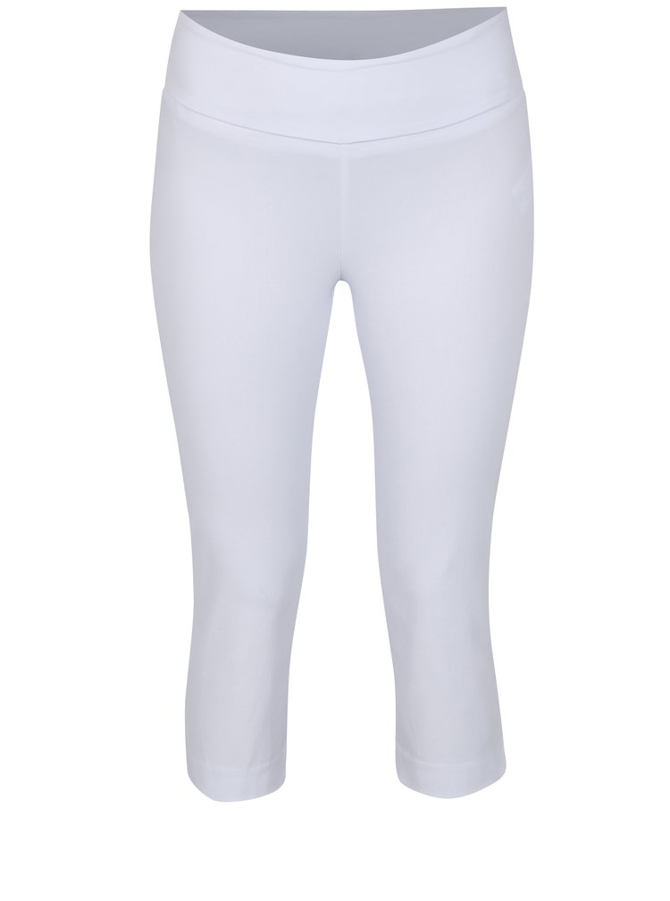 Bílé regular 3/4 kalhoty Yest