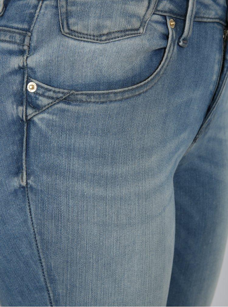 Světle modré skinny fit džíny ONLY lCARMEN