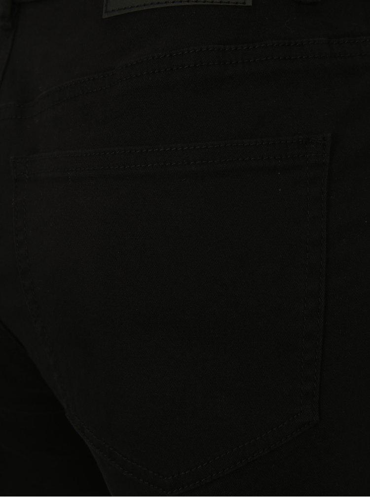 Černé džínové kraťasy Jacqueline de Yong Cate