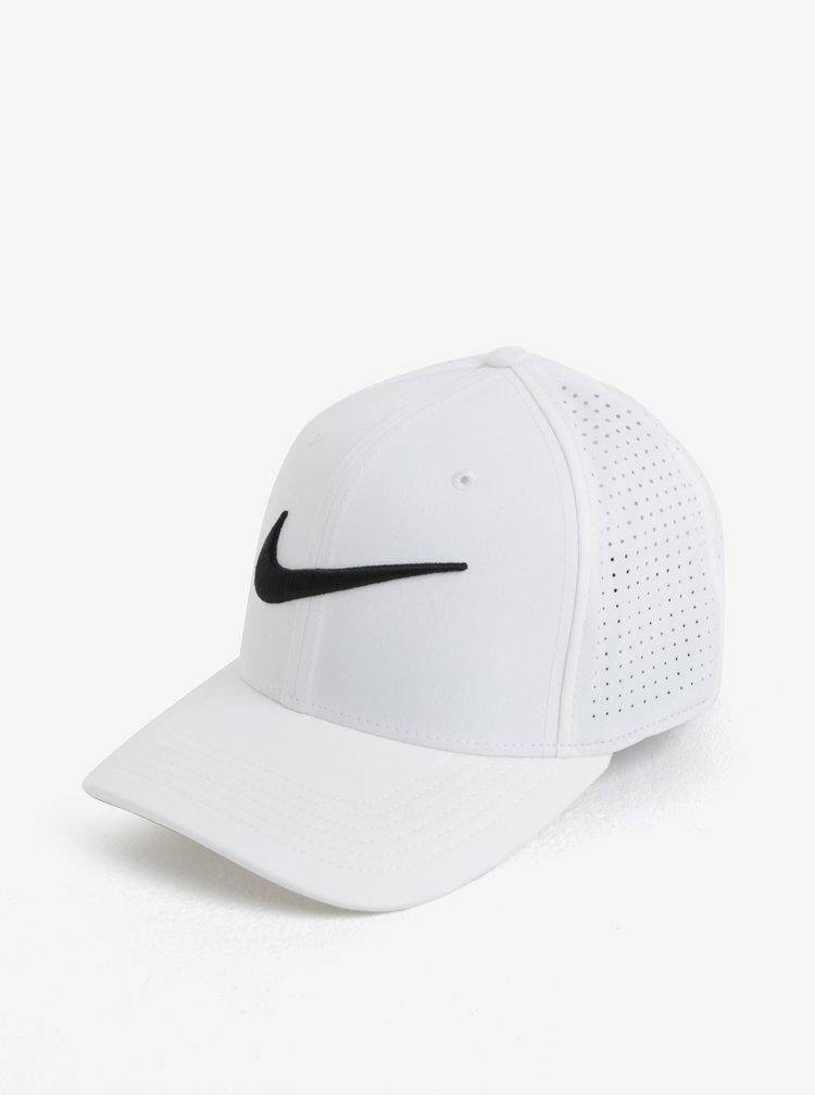 Bílá unisex funkční kšiltovka Nike