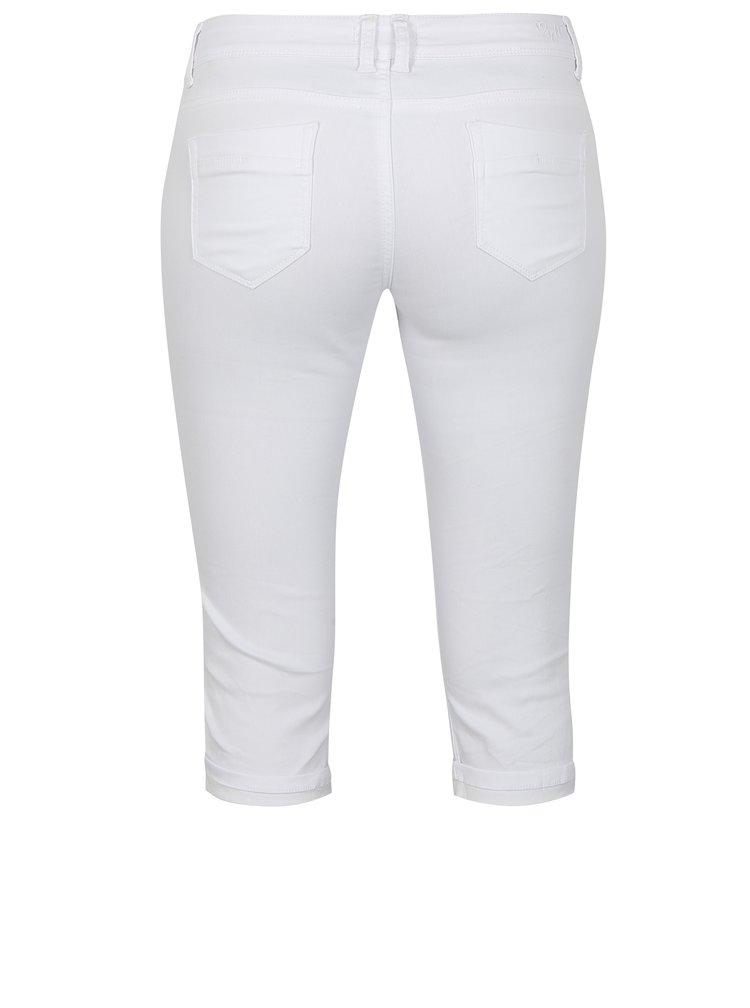 Bílé džínové 3/4 kalhoty Haily´s Jenna