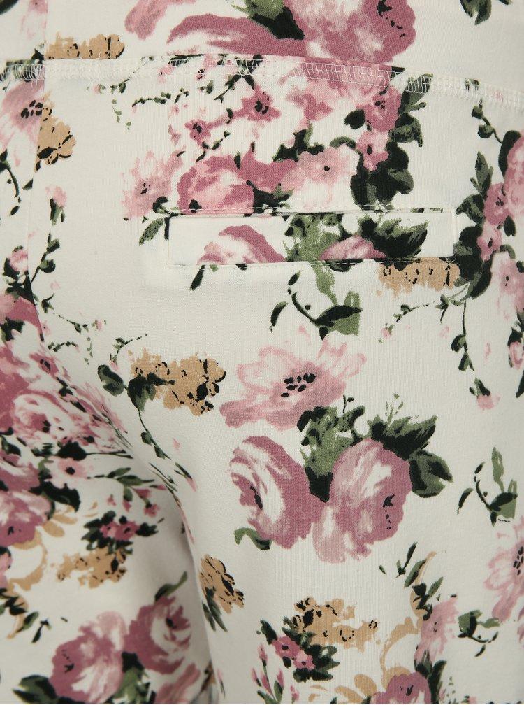 Bílé květované kraťasy Haily´s Sabina