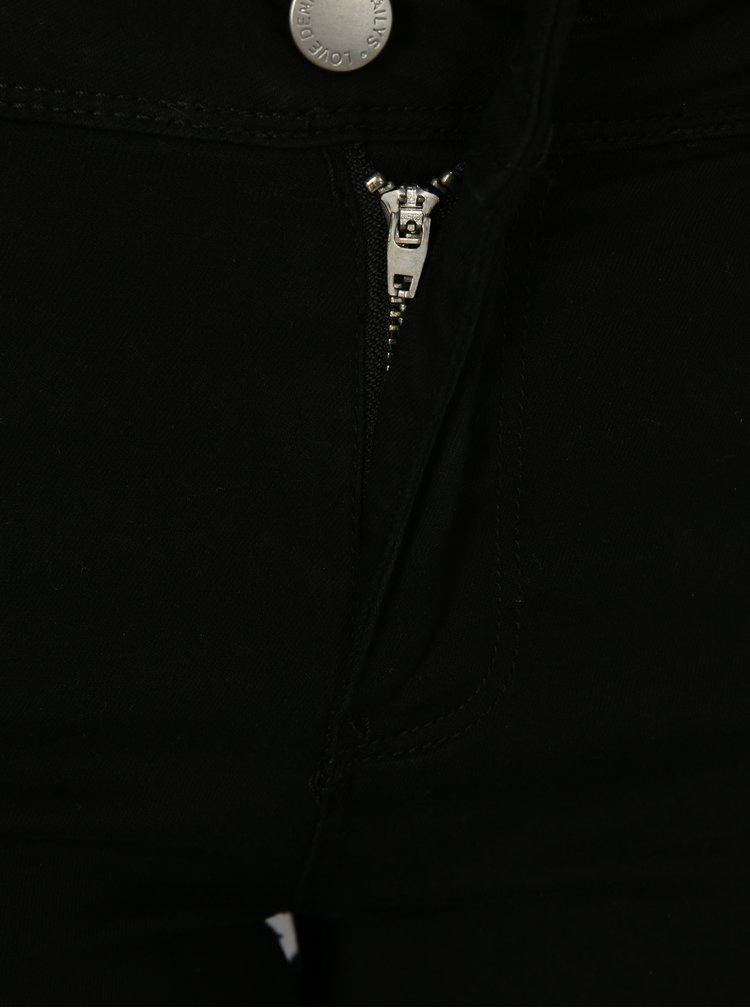 Černé džínové 3/4 kalhoty Haily´s Jenna