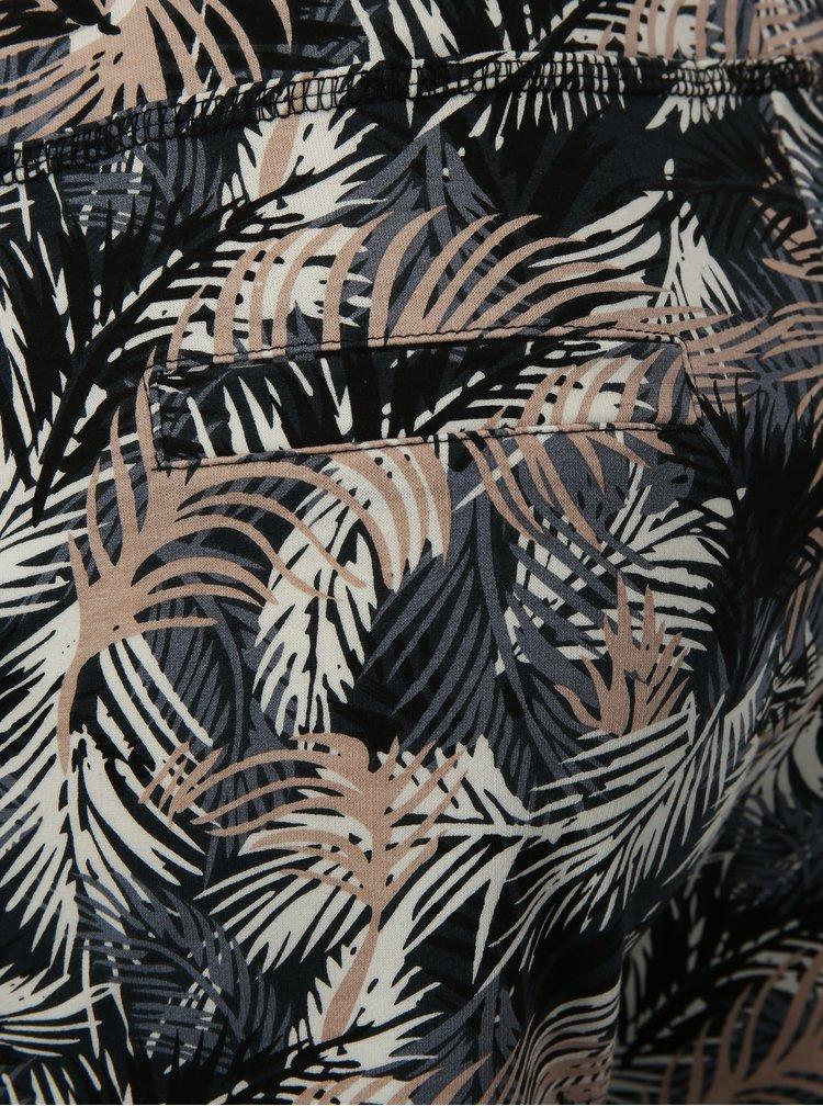 Růžovo-šedé vzorované kraťasy Haily´s Sabina