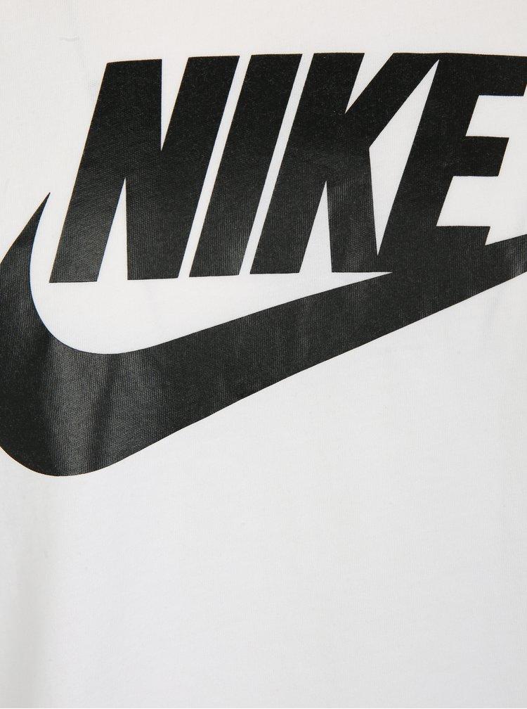 Tricou alb cu print pentru barbati - Nike Futura Icon