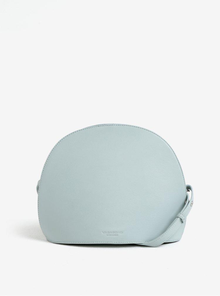 Světle modrá kožená kabelka Vagabond Shannon
