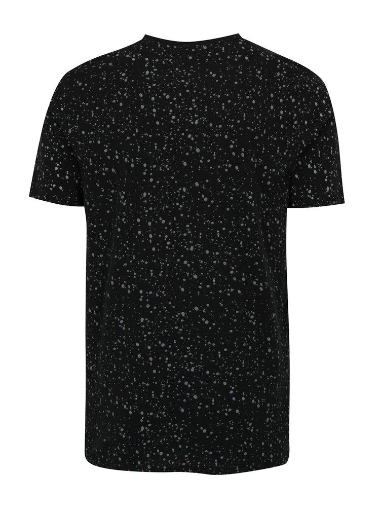 Tricou negru&gri cu print - Nike Table 3