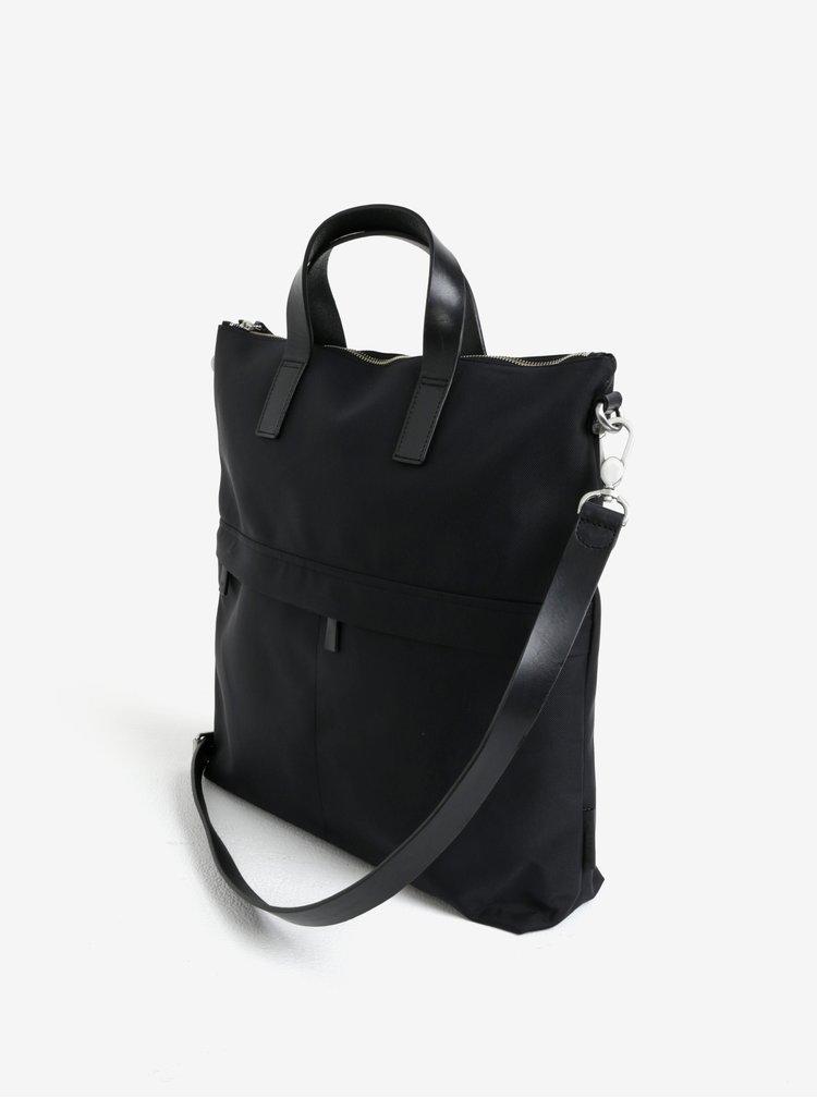 Černá taška na notebook Vagabond Oslo