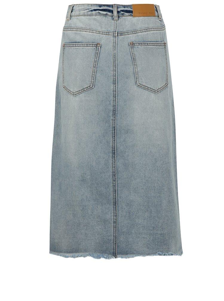 Modrá džínová sukně Noisy May Paige