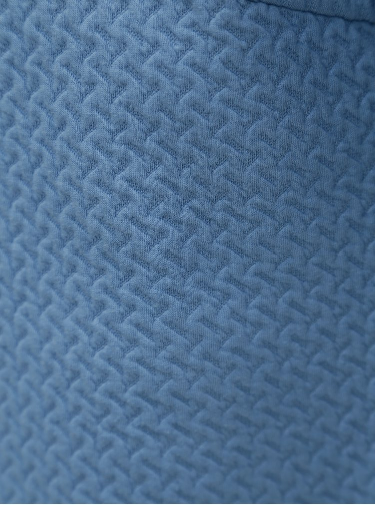Světle modrý vzorovaný kardigan VILA Naja