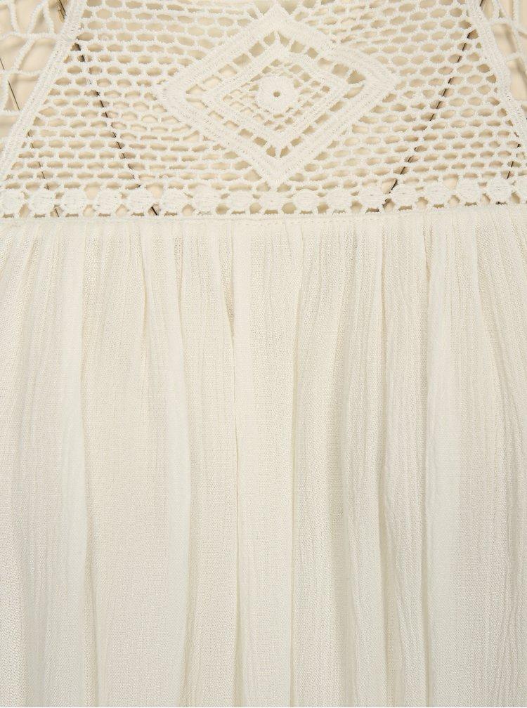 Bílá oversize halenka s odhalenými rameny ONLY Karmen