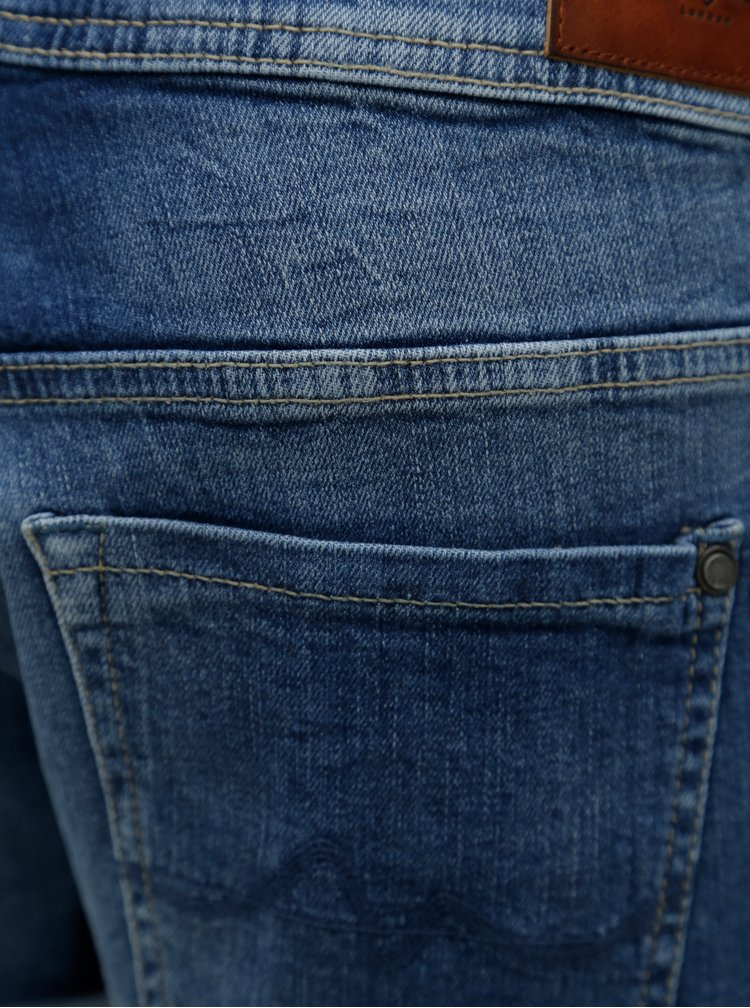 Modré dámské džínové boyfriend kraťasy Pepe Jeans Siouxie