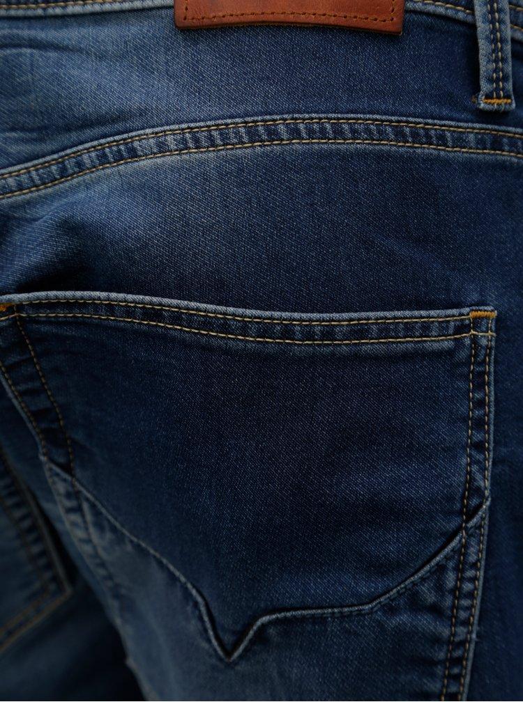 Modré pánské regular džíny Pepe Jeans Track