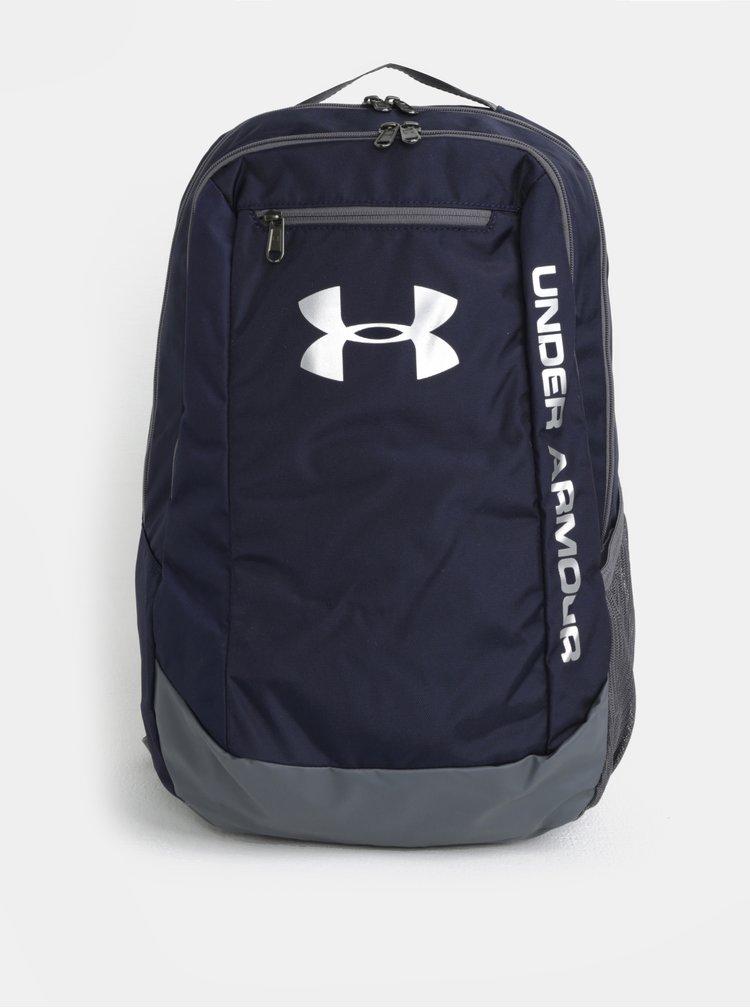 Tmavě modrý voděodolný batoh Under Armour Hustle