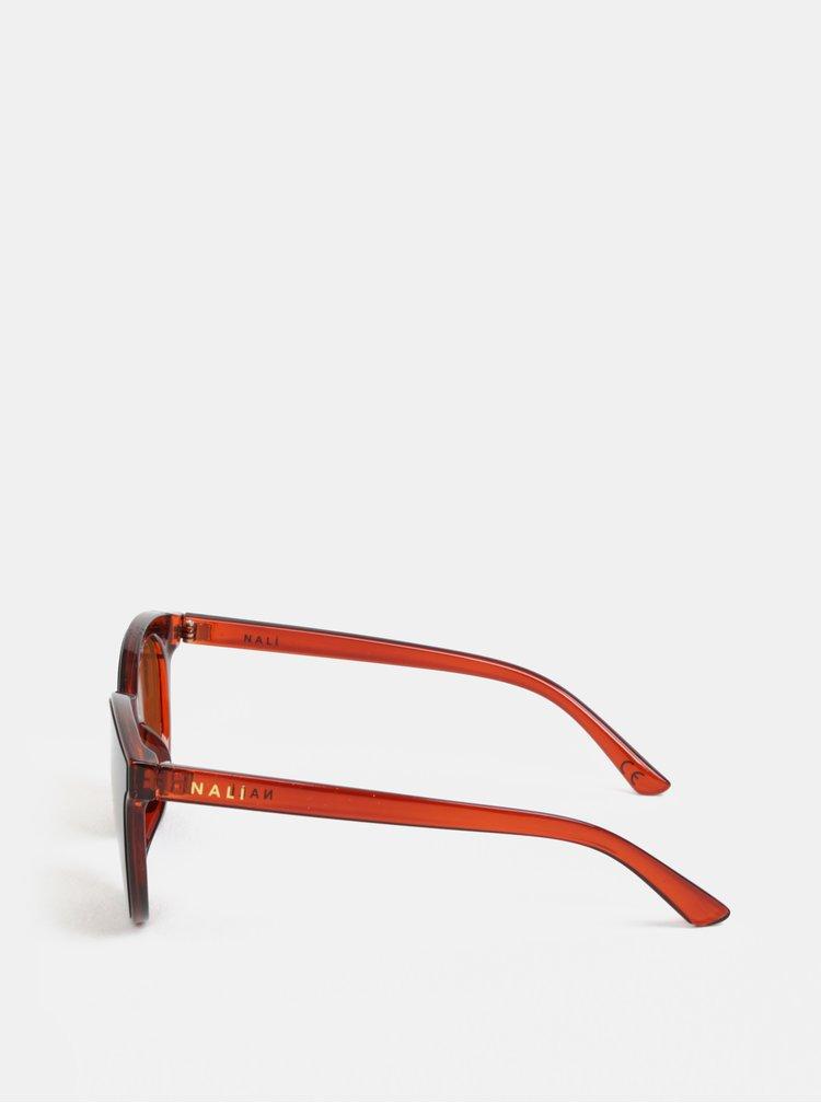 Hnědé sluneční brýle Nalí