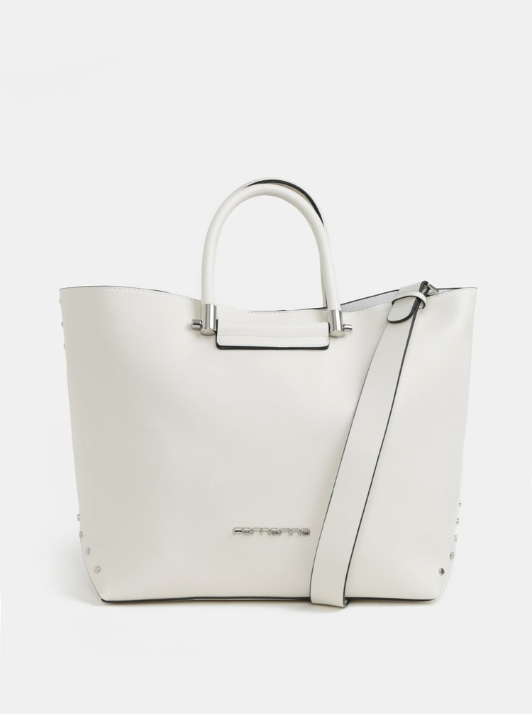 Bílá kabelka Fornarina Amber