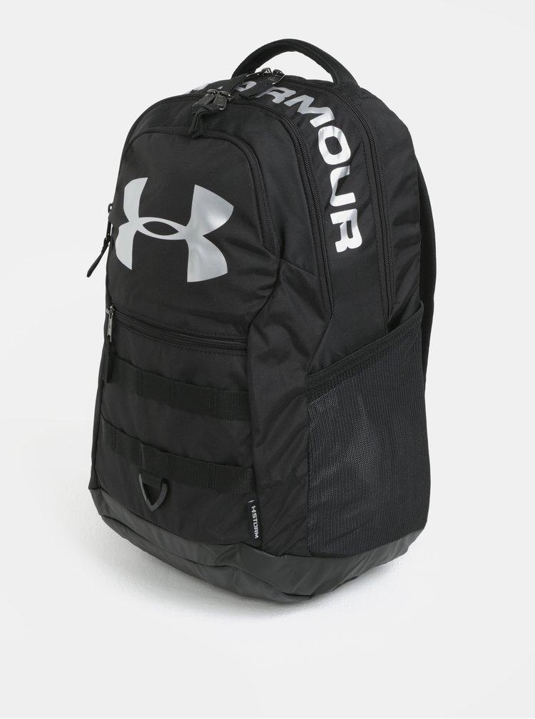 Černý voděodolný batoh s reflexními prvky Under Armour