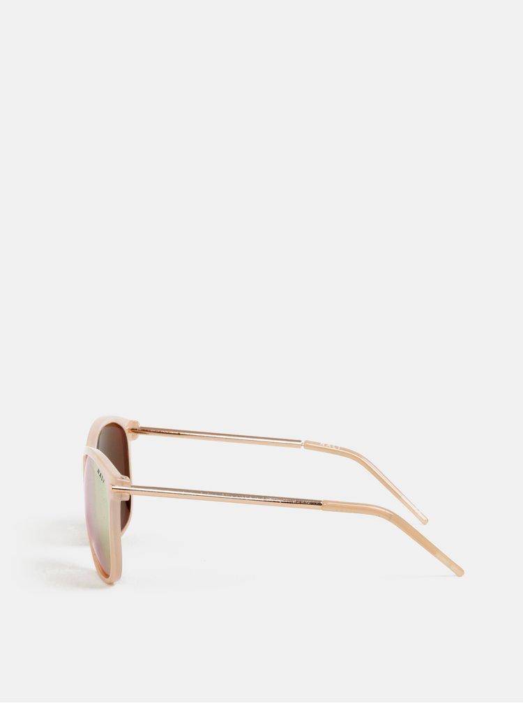 Svetloružové slnečné okuliare Nalí