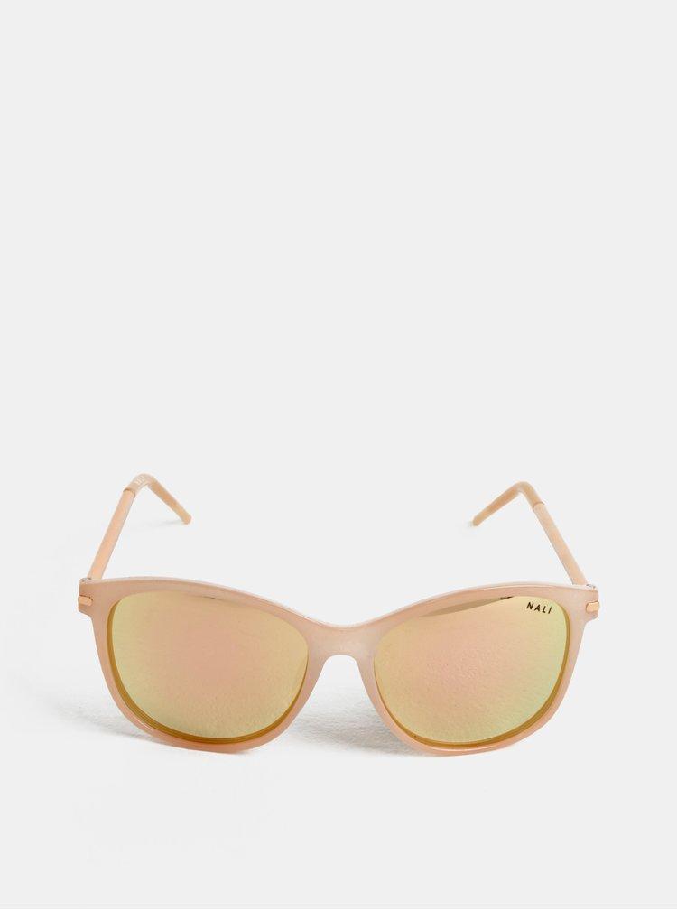Světle růžové sluneční brýle Nalí