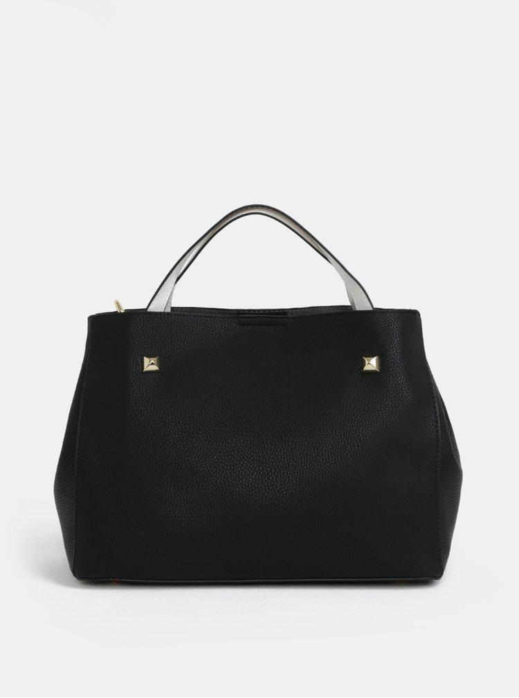 Bílo-černá kabelka Fornarina Fiona