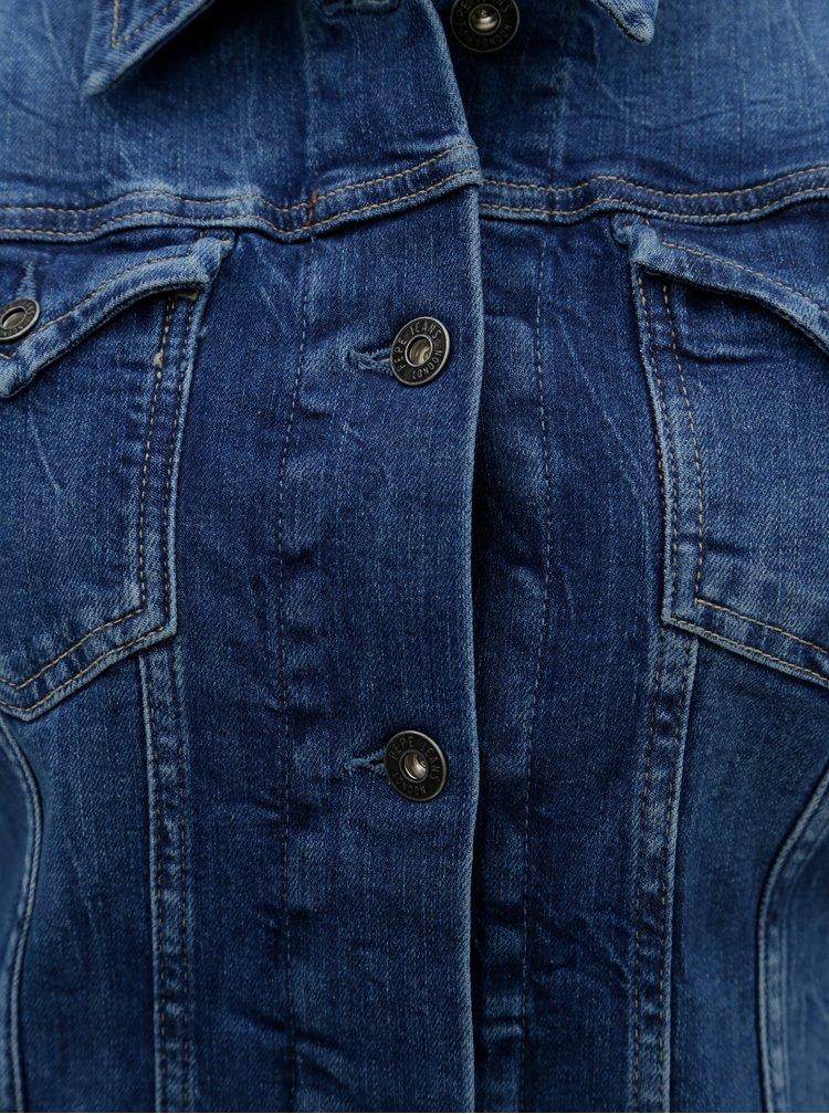 Modrá dámská džínová bunda Pepe Jeans Thrift