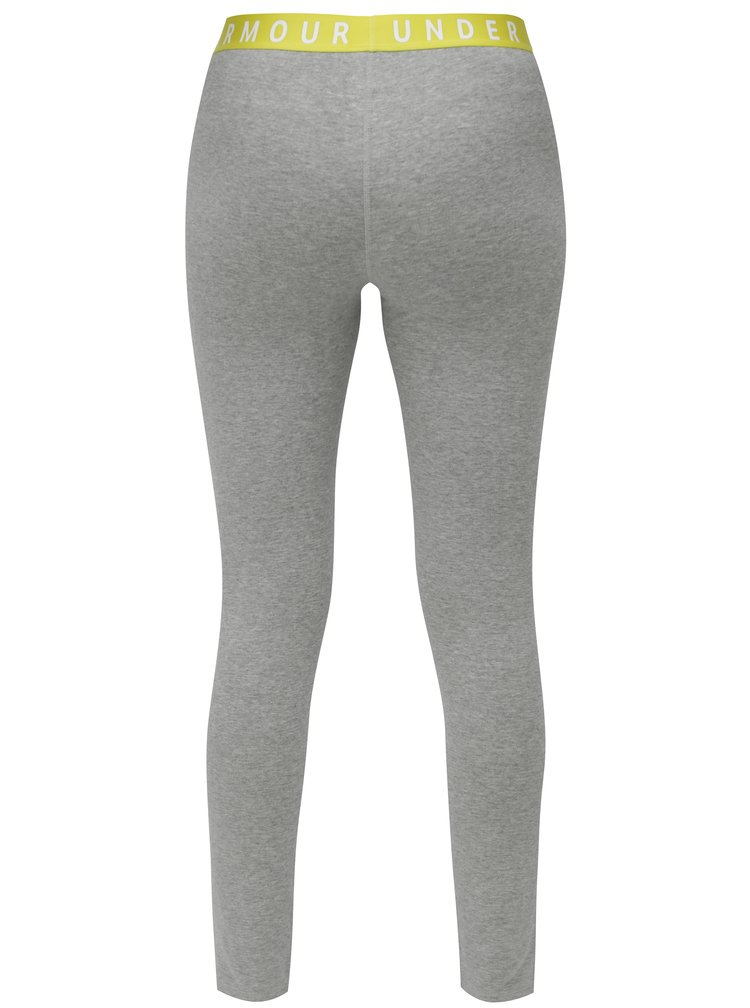 Leggings de dama crop sport gri melanj Under Armour