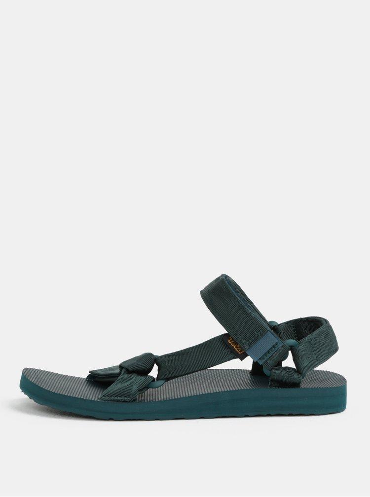 Tmavě zelené pánské sandály Teva