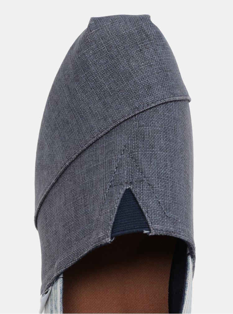 Modré džínové pánské slip on TOMS