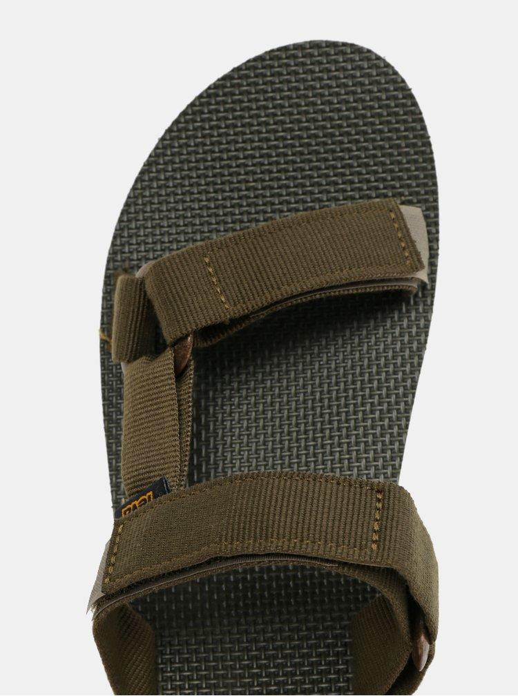Khaki pánské pantofle Teva