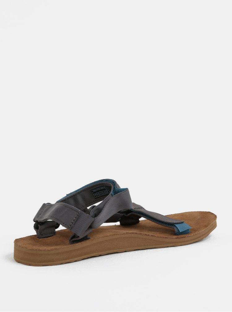 Tmavě šedé pánské sandály Teva