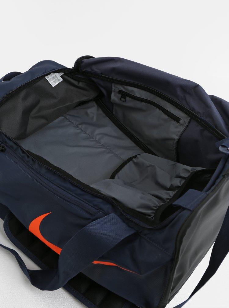 Černo-modrá sportovní taška Nike Alpha 48 l
