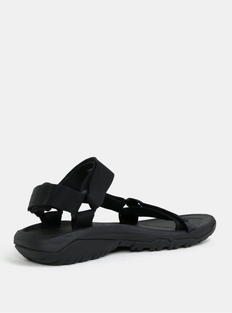 Sandale barbatesti negre Teva