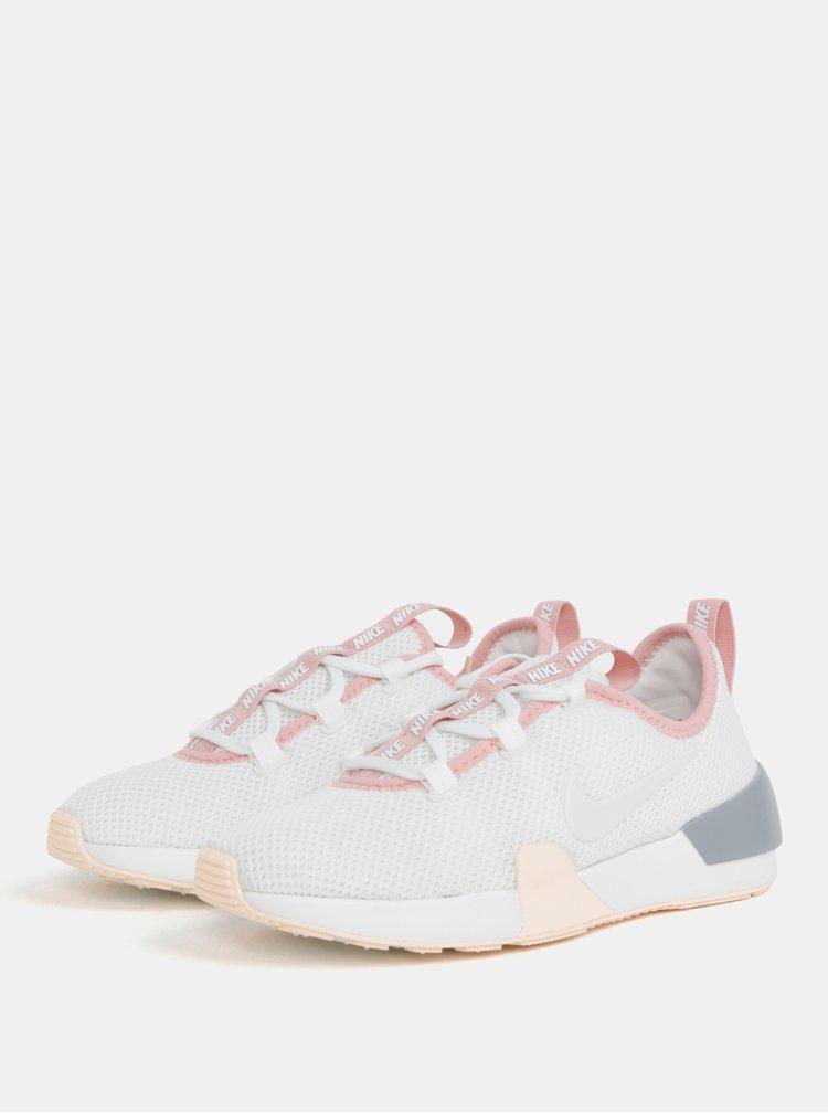 Růžovo-bílé dámské tenisky Nike Ashin Modern