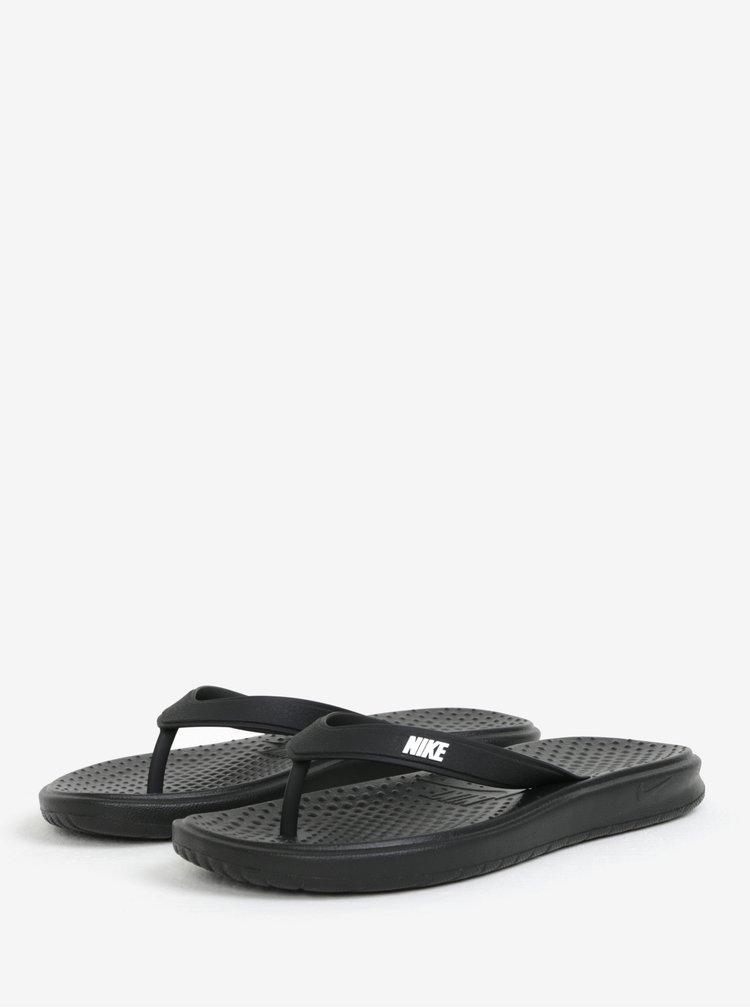 Černé pánské žabky Nike Solay Thong