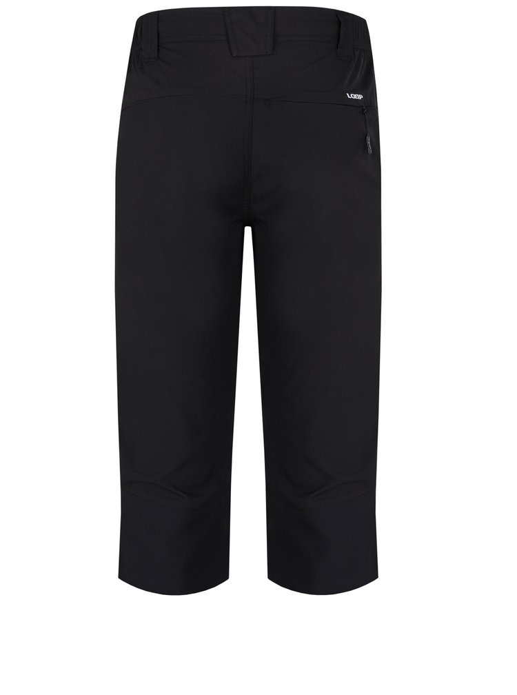 Černé pánské 3/4 kalhoty LOAP Uzus