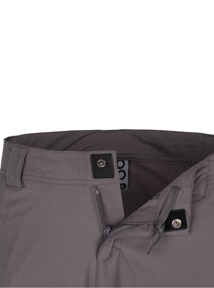 Šedé dámské softshellové funkční kalhoty LOAP Urika