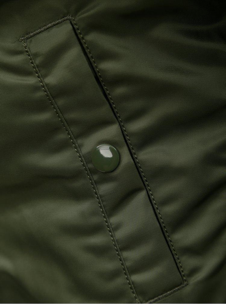 Zelený dámský oboustranný bomber ALPHA INDUSTRIES