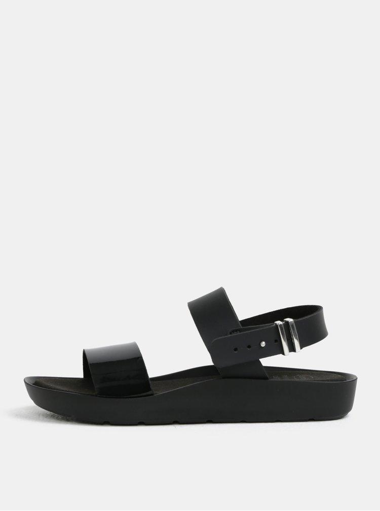 Černé dámské zdravotní sandály Scholl Mamore